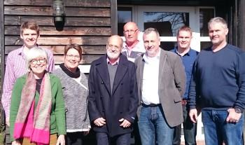 Der SCC Vorstand 2015